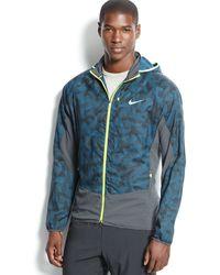 Nike Kiger Printed Packable Trail Jacket - Lyst