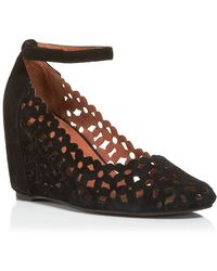 Jeffrey Campbell Wedge Pumps - Delaisy Cutout - Lyst