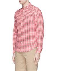 Alex Mill Gingham Check Cotton Shirt - Lyst