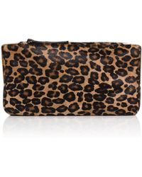 Tamara Mellon Playboy Ii Hair Calf Clutch - Lyst