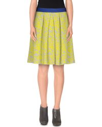 Nioi - Knee Length Skirt - Lyst