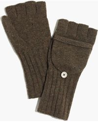 Madewell - Merino Ribbed Gloves - Lyst