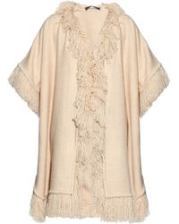 Denis Colomb - Hand-woven Djellaba Fringe Poncho - Lyst