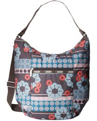 Lesportsac Floral Heather Hobo - Lyst
