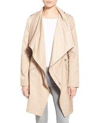 Guess - Draped Asymmetric-Zip Jacket - Lyst