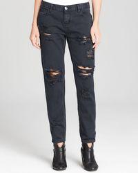 One Teaspoon Jeans  Awesome Baggies in Black - Lyst