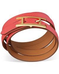 Hermès Hapi 3 Mm pink - Lyst