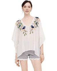 Club Monaco Kaitlin Top - Lyst
