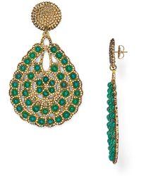 Roni Blanshay - Swarovski Crystal Statement Earrings - Lyst
