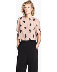 H&M Short Blouse - Lyst