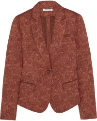 Elizabeth And James Abigail Floraljacquard Blazer - Lyst