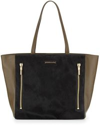 Elizabeth And James James Calf Hair Tote Bag - Lyst