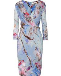Matthew Williamson Printed Jersey Dress - Lyst