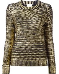 Forte Forte Open Knit Sweater - Lyst