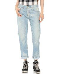 Nsf Clothing Beck Boyfriend Jeans Laguna - Lyst