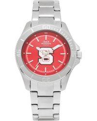 Jack Mason Brand - 'nc State University Wolf Pack' Bracelet Watch, 38mm - Lyst
