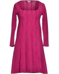 Vicedomini Short Dress - Lyst