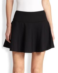RED Valentino Cady Flared Mini Skirt - Lyst