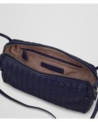 Bottega Veneta Atlantic Intrecciato Nappa Messenger Bag - Lyst