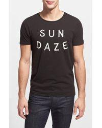 Scotch & Soda 'Sun Daze' Graphic T-Shirt - Lyst