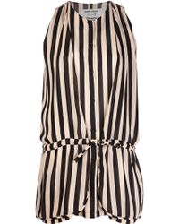 Henrik Vibskov Striped Blouse - Lyst