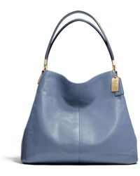 Coach Madison Small Phoebe Shoulder Bag in Leather - Lyst