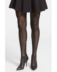 Wolford Women'S 'Celina' Tights - Lyst