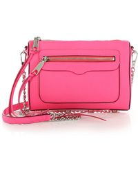 Rebecca Minkoff Avery Leather Crossbody Bag - Lyst