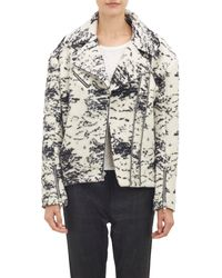 Rag & Bone Black Monoco Jacket - Lyst