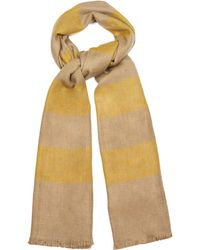 Me and Kashmiere - Stripe Cashmere Scarf - Lyst