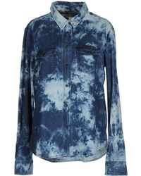 Textile Elizabeth And James Denim Shirt - Lyst