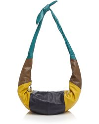 TOMS Hobo - Voyager Diagonal Seamed Leather - Lyst