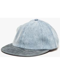 Patrik Ervell Light Wash Cap - Lyst