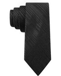 Calvin Klein Silk-blend Stripe Tie - Lyst