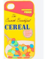 Zara Yellow Cereals Iphone - Lyst