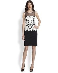 Sachin & Babi Ashe Sleeveless Meshtop Dress - Lyst