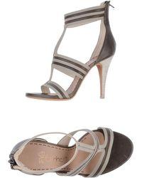 Eva Turner High-Heeled Sandals - Lyst