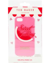 Ted Baker Jemina Colour Iphone Case - Lyst