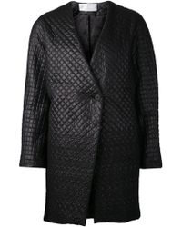Thakoon Addition Quilted Cocoon Coat - Lyst