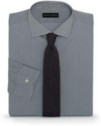 Ralph Lauren Black Label Tailored-fit Bond Dress Shirt - Lyst