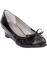Me Too Boston Patent Wedges - Lyst