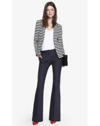 Express Mid Rise Flare Pant - Lyst