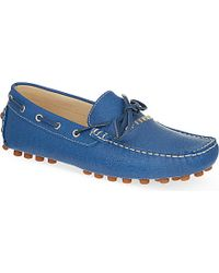 Gianfranco Ferré Leather Loafers - For Men - Lyst