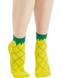 Ana Accessories Inc - Fruit As Can Be Socks - Lyst