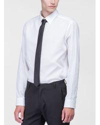 Costume National Black Tie - Lyst