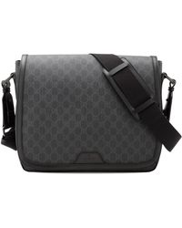 Gucci Gg Supreme Canvas Messenger Bag - Lyst
