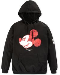 Neff Dont Grow Up Mickey Fleece Hoodie - Lyst