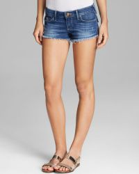 True Religion Shorts Joey Cutoff in Broken Heart - Lyst