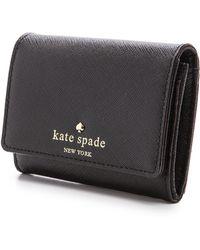Kate Spade Cedar Street Darla Wallet  Black - Lyst