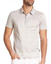 Hugo Boss Rapino Cotton Polo Shirt - Lyst
